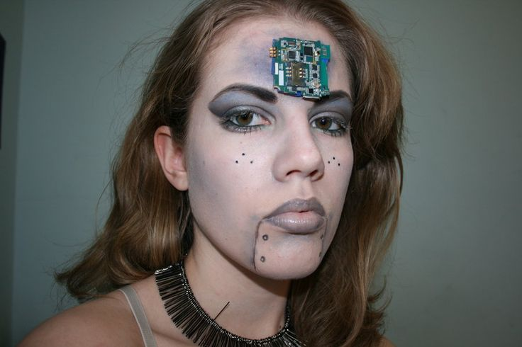 49 Best Images About Robot On Pinterest | Robot Makeup ...