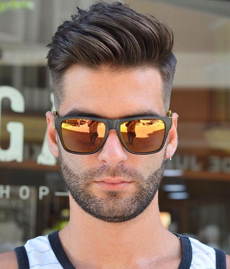 Pleasant 1000 Ideas About Men39S Hairstyles On Pinterest Pompadour Short Hairstyles For Black Women Fulllsitofus