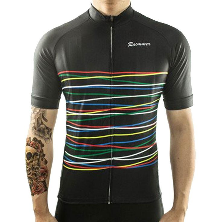 Black Rainbow Cycling Jersey – The Cycling Fever