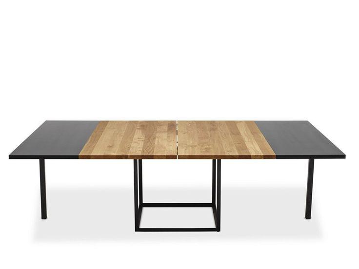 TABLE EXTENSIBLE EN CHÊNE JEWEL | TABLE CARRÉE | DK3