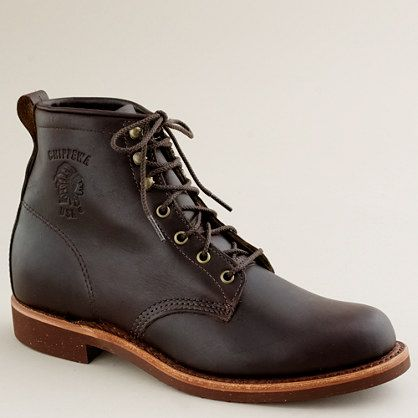 //\\ Chippewa® for J.Crew plain-toe boots