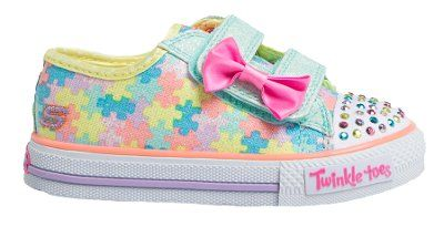 Skechers - Jumpin Jigsaw - Aqua Multi