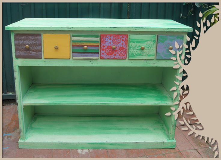 Mueble colores