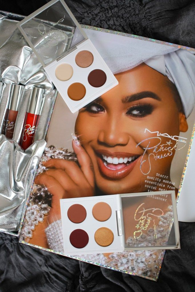 MAC x Patrick Starr collaboration makeup products.  Perfect Christmas gift for beauty lovers.