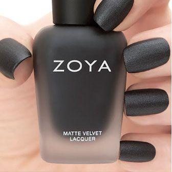 Zoya Matte Velvet Dovima!