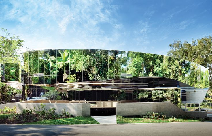 Plus Architecture's mirrored facade reflects nature in North Melbourne | Architecture And Design