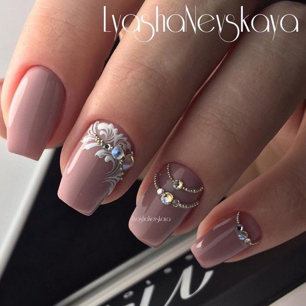 Идеи дизайна ногтей - фото,видео,уроки,маникюр! Simple NailsGorgeous Nails NailartClassy Nail DesignsNail ... - 32 Best Nails Images On Pinterest Fingernail Designs, Nail