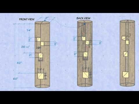wooden dummy - YouTube