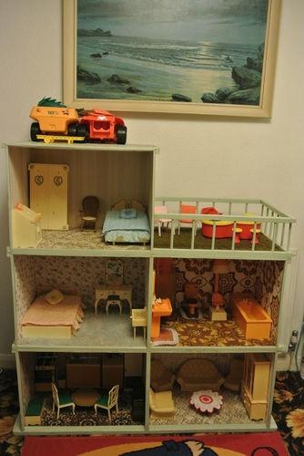 Dolls House - original large Sindy Doll House | eBay