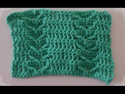 ▶ Вязание крючком. Узор. Crochet pattern. - YouTube