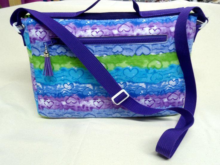 Custom Dorian messenger bag