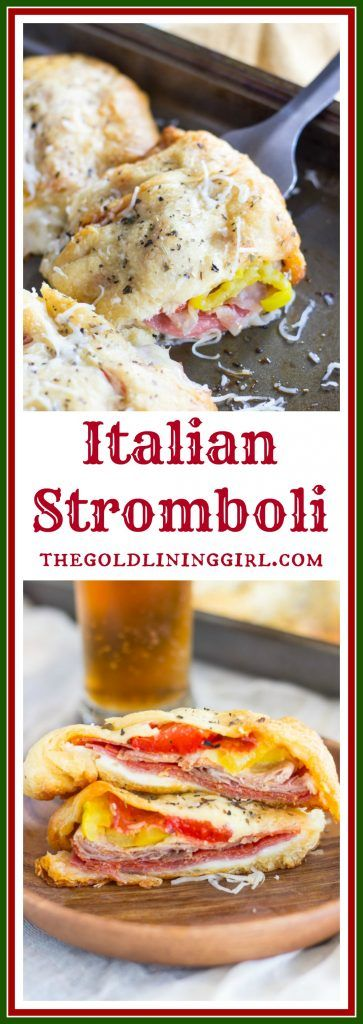 Super Bowl Italian Stromboli Recipe