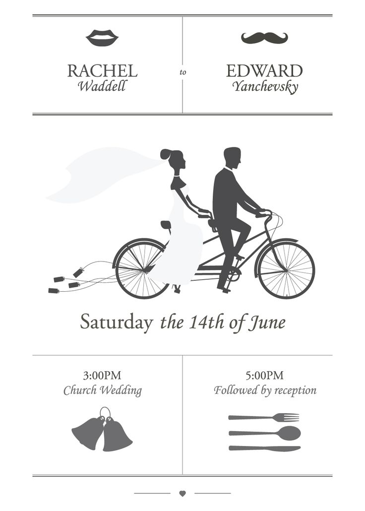Simple illustrations are popular design choices for wedding invitations in 2014. Read more about Wedding Invitation Design & Printing Trends for 2014 at Smartpress.com.