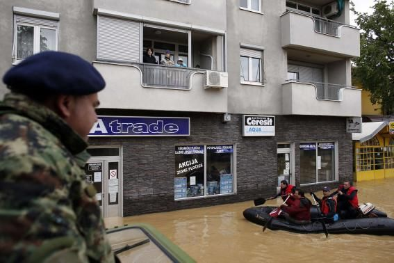 More than 20 dead, thousands evacuated in Bosnia, Serbia floods...