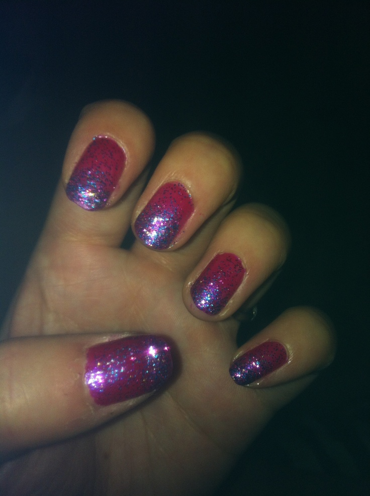 Galaxy inspired nails xx