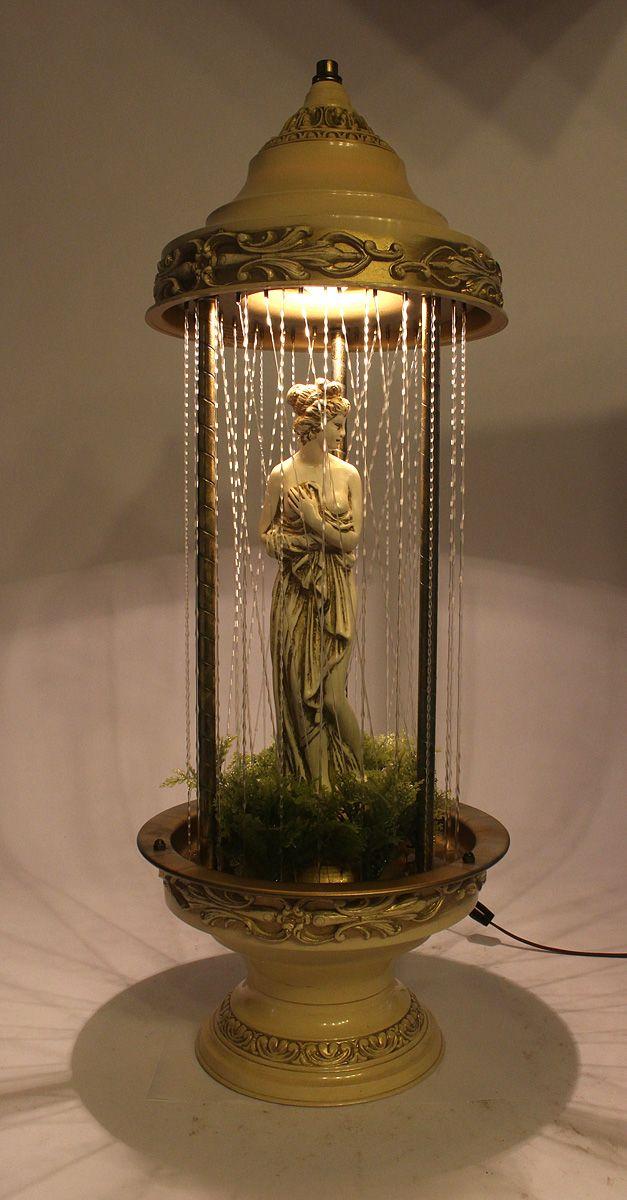 1970 S Rain Mineral Oil Lamp Vintage Findz In 2020 Oil Lamp Decor Oil Lamps Rain Lamp