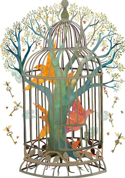 Flying Keys Trapped Dreams ~ Melissa Launay