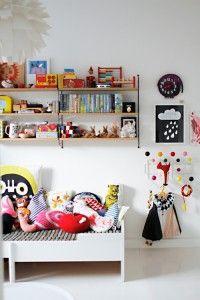 Bright childrens bedroom