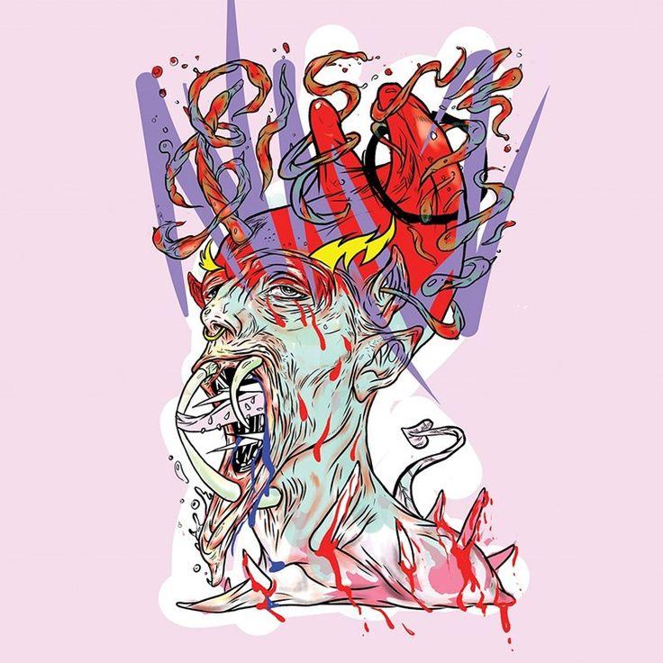 Grimes 'Venus Fly' artwork