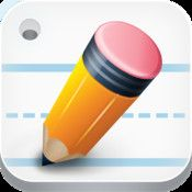 Write My Name (iPad; 3.99) is a handwriting app that provides practice for letter, words and also the ability to practice your name (customizable). Great handwriting app.