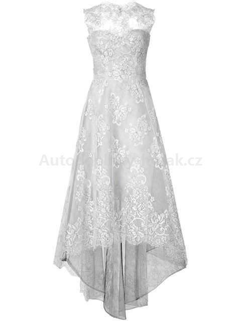 2017 Populární Monique Lhuillier Ženy vzplanul krajkové šaty 582252 - Šaty levný prodej