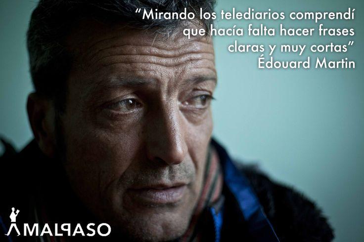 Édouard Martin, autor de #Malpaso con su #Nopasarán.