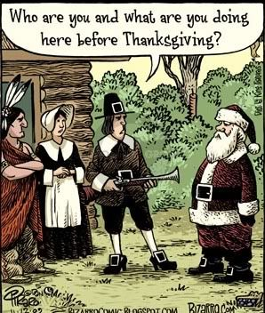 Thanksgiving Santa