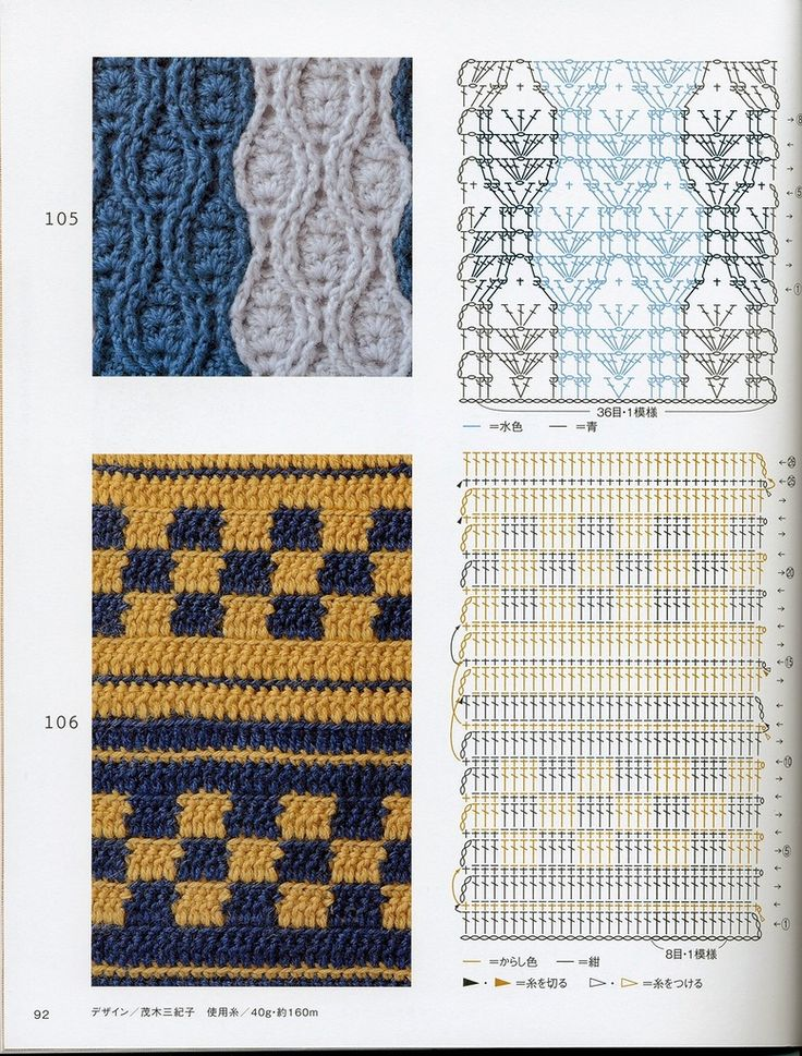 550 best Puntos images on Pinterest | Crochet patterns, Crocheting ...