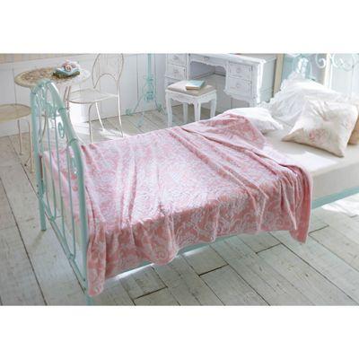 ジャガード織りタオルケットW かわいい姫系インテリア家具・姫系雑貨の通販|ロマプリ・ロマンティックプリンセス