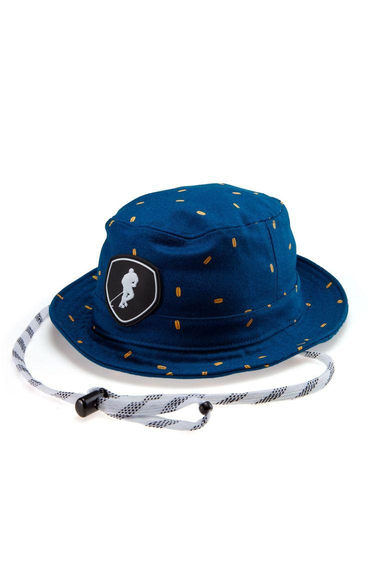 Waterfront Wheel Blue Hockey Bucket Hat - Gongshow Gear - Lifestyle Hockey Apparel