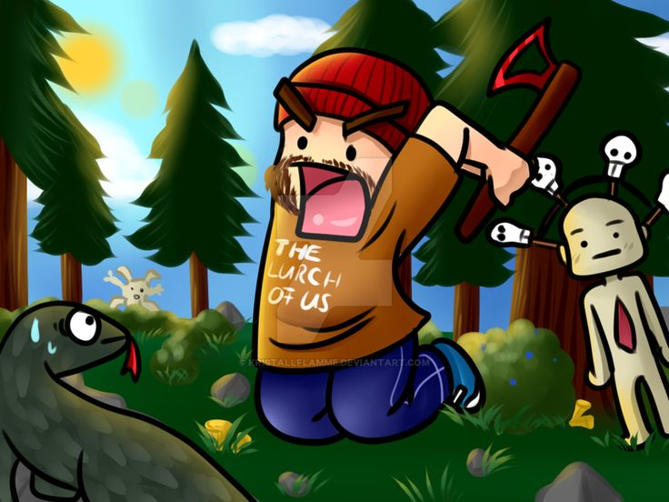 Gronkh and the Forest by Kristallflamme ...