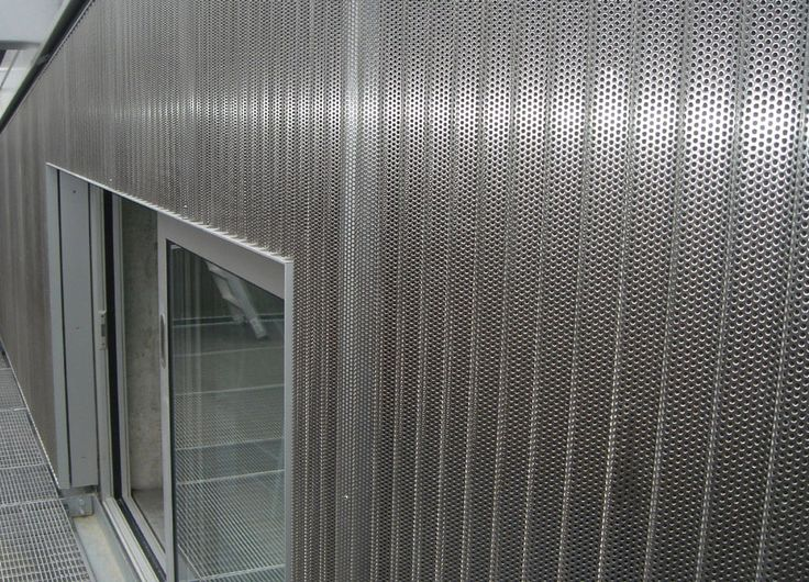 Stainless Steel Metal Cladding : St john mews london satin polished stainless steel