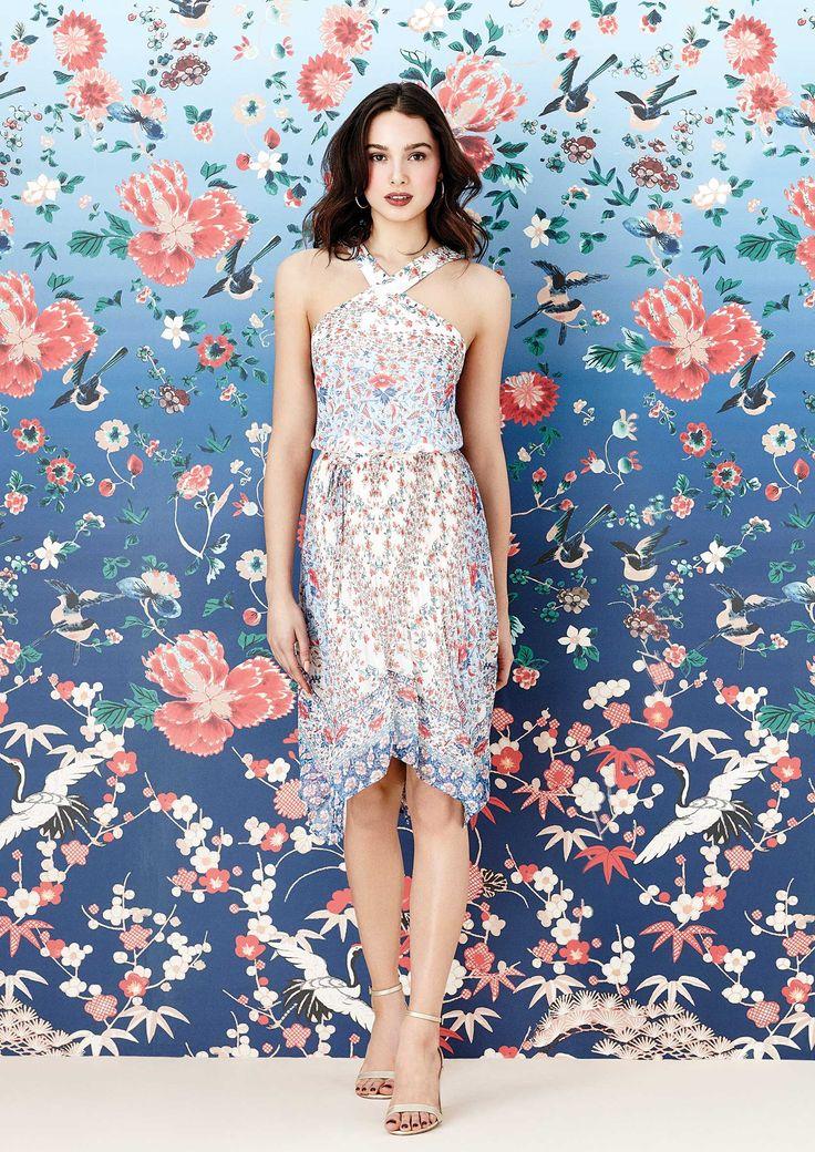 V&A Lucinda Hanky Hem Dress