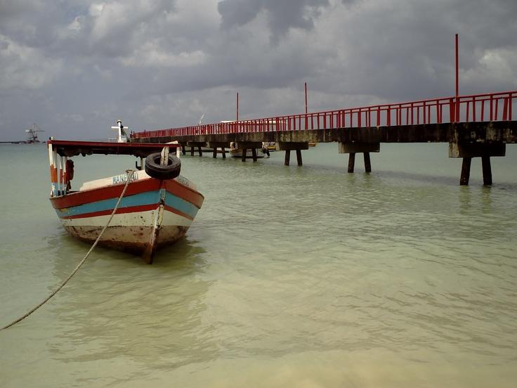 boat at pier