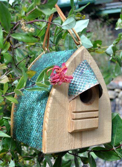 Wood bird houses, bird feeders, birding gifts,