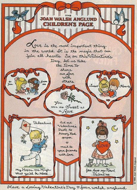 Joan Walsh Anglund Valentine's Day