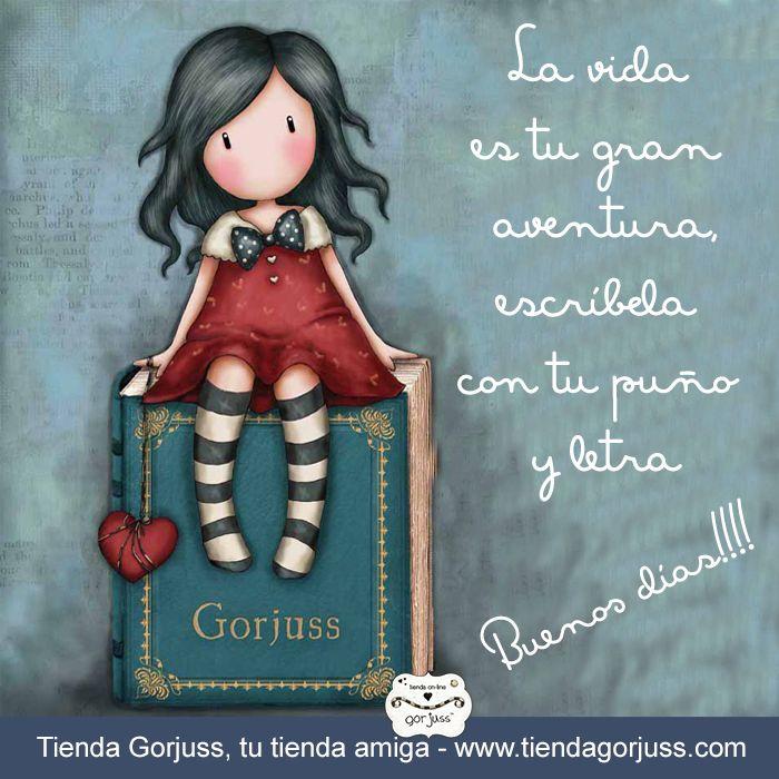 La vida es tu gran aventura, escríbela con tu puño y letra   Feliz domingo!!!!  @TiendaGorjuss  #FrasesGorjuss @FelizDomingo