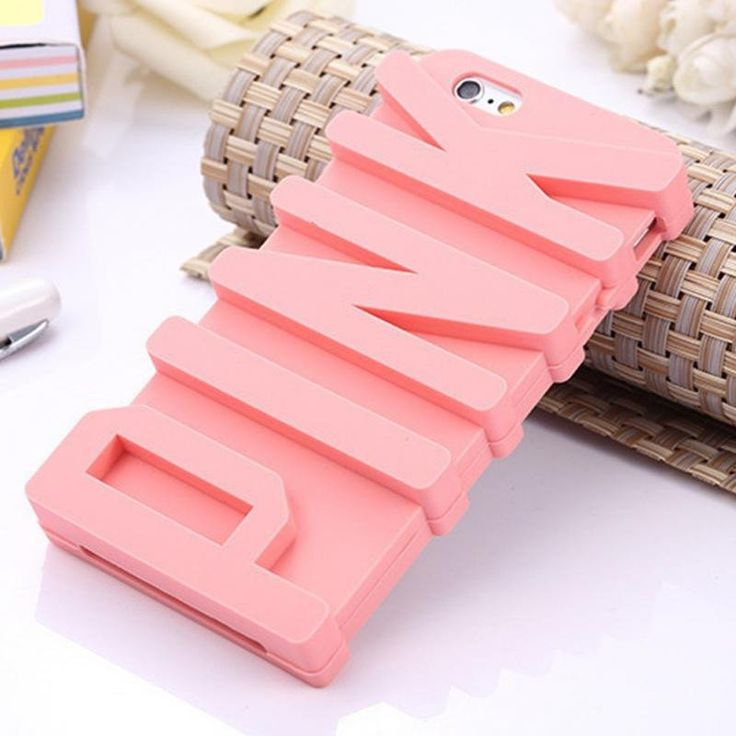 Cover your precious iPhone with this 3D PINK iPhone Case. It may look too cute and simple but it is a protective soft silicone case. Moreover, it absorbs impact and efficiently prevents dust and scrat