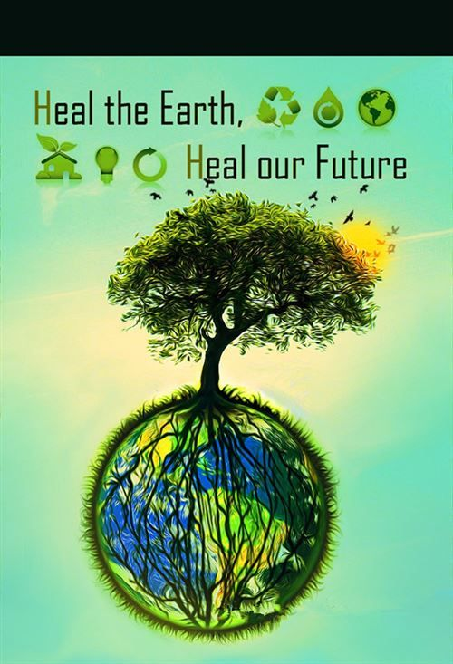 the poster with the ideas for green tree
