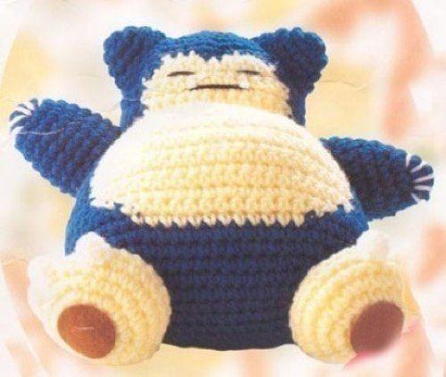 Yarn Type For Amigurumi : Yarn amigurumi Snorlax Arts and Crafts Pinterest ...