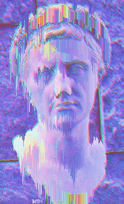 25 best ideas about vaporwave wallpaper on pinterest - Art aesthetic wallpaper ...