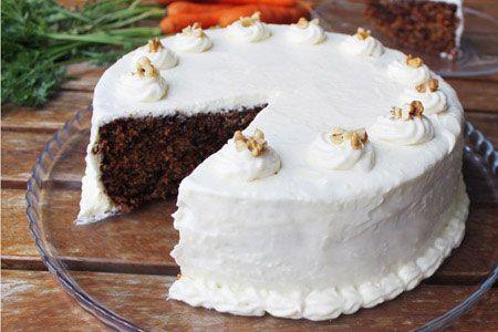 Carrot cake / Κέικ καρότου