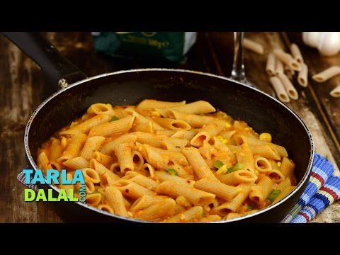 The 25 best pasta sauce recipes tarla dalal ideas on pinterest whole wheat pasta in tomato sauce low calorie by tarla dalal youtube forumfinder Image collections