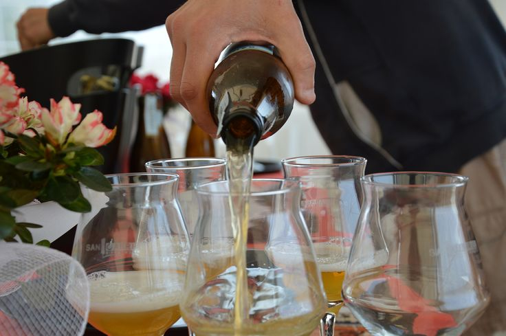 San Gabriel Beer at Red Beach Bar