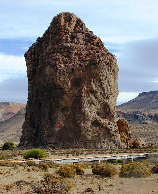 Piedra Parada, Chubut. Argentina