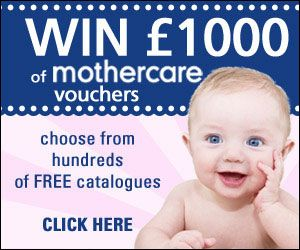 Choose from 100's of FREE Catalogues for a chance to win a £1000 of Mothercare Vouchers.