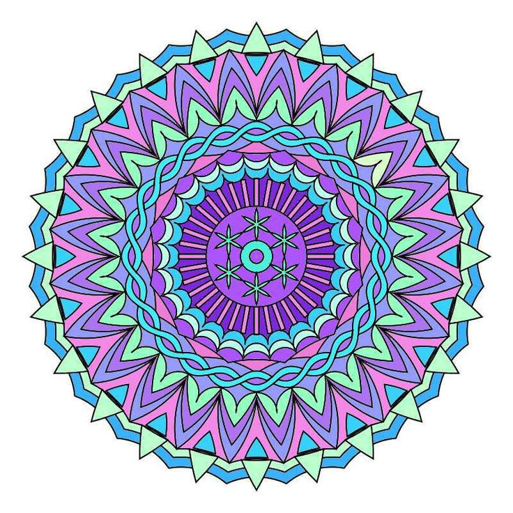 Coloring Books for Grown Ups: Creative Mandala Patterns - a book full of pretty simplistic mandala shapes.  Some easy and some more complicated. Click here to find out which it is and view other designs.