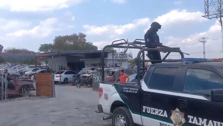 """Gobierno de Tamaulipas clausura """"yonques"""" irregulares en Reynosa"""