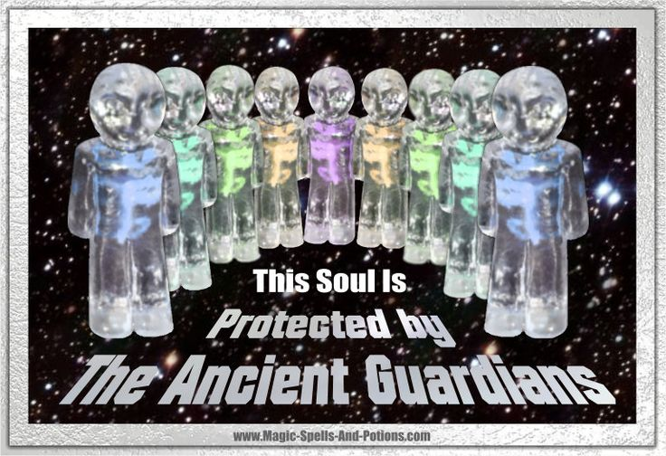 This soul is protected by the Ancient Guardians