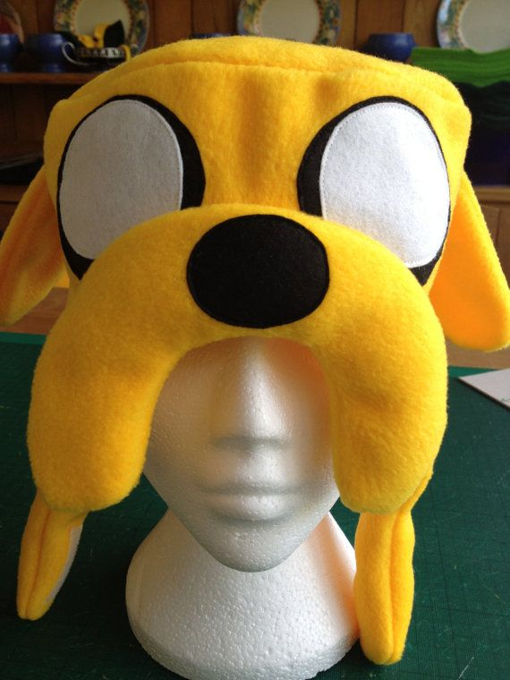 Adventure Time Jake the Dog inspired Hat by characterhats on Etsy